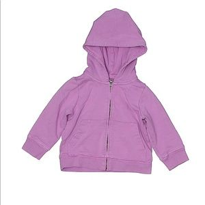 Primary zippered hoodie